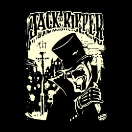 tee shirt jack the ripper noir