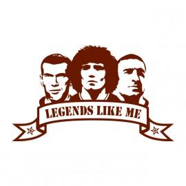 white football shirt legends