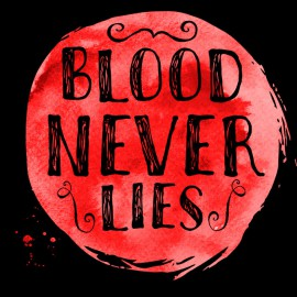 Tee Shirt Dexter - Blood Never lies - BLACK