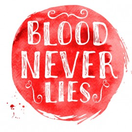 Tee Shirt Dexter - Blood Never lies - WHITE