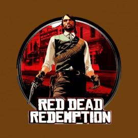 camisa roja marrón dead redemption