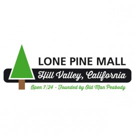 Tee Shirt BTTF Lone Pine Mall WHITE