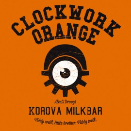 Universidad Camiseta naranja mecánica