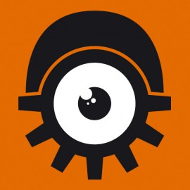 Tee Shirts logotipo de ojo naranja mecánica