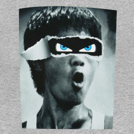 bruce lee gray shirt