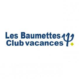 prisión camisa de la parodia baumettes club Med blanco