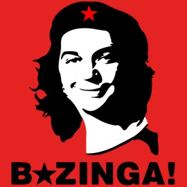 shirt che red bazinga