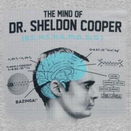 poseer la mente del Dr. Sheldon Cooper gris