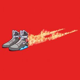 mcfly camiseta Nike de vuelta al futuro roja