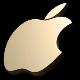manzanas negro camisa 3D