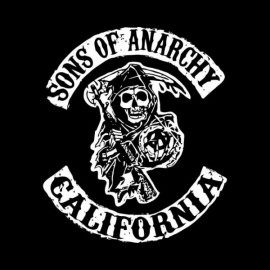 débardeur sons of anarchy noir mixte