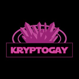 camiseta del negro de la camisa cryptogay