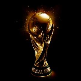 negro camiseta premio copa del mundo
