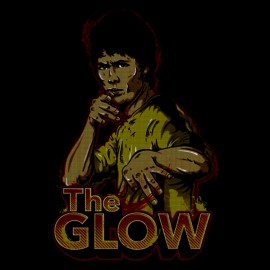 tee shirt the glow noir