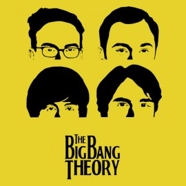 shirt big bang theory yellow
