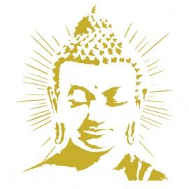 camiseta blanca de Buda