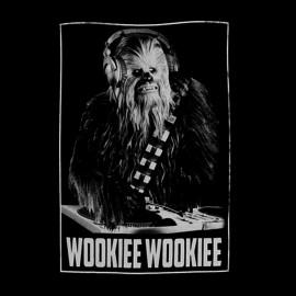 wookie wookie camisa negro