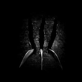 camisa de Wolverine garra negro
