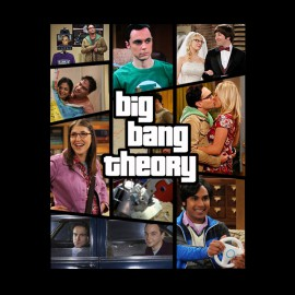 Camisa de Big Bang Theory gta negro