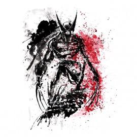 camisa blanca obra Wolverine