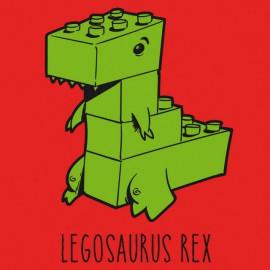 Tee Shirts Legosaurus Rex - Rojo