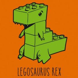 Tee Shirts Legosaurus Rex - Naranja