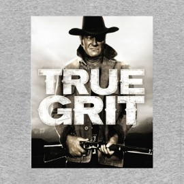 camisa de John Wayne cierto gris de grano