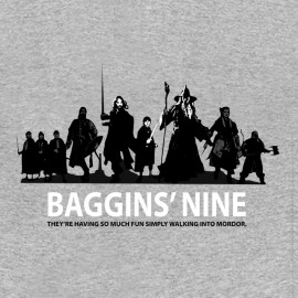 tee shirt Baggins'nine gris