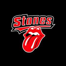 Stones t-shirt black