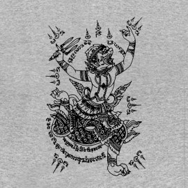 shirt magic tattoo gray