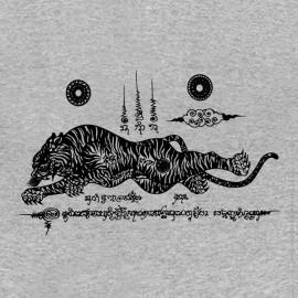Camisa del tatuaje gris mágica