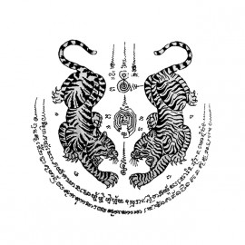 Camisa del tatuaje de la magia blanca Tailandia