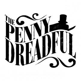 tee shirt penny dreadful logo blanc