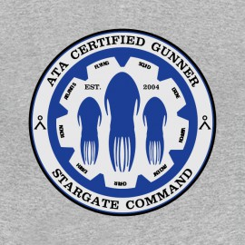 comando Stargate camisa gris