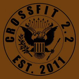 the ramones shirt crossfit brown
