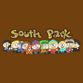 tee shirt south park marron