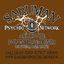 tee shirt saruman network marron