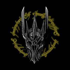 camisa de Sauron solo anillo negro