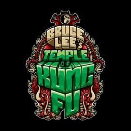 camisa de color negro Templo de Bruce Lee