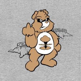 tee shirt nucléaire bisounours gris
