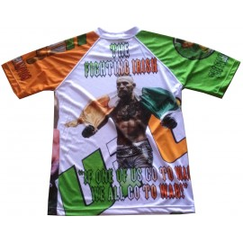 tee shirt conor Mcgregor MMA microfibre