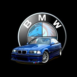 m3 e36 black shirt Estoril
