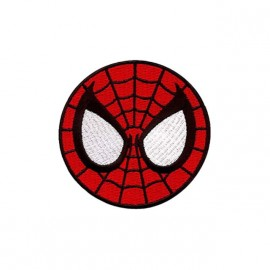 polo spiderman cocarde brodé