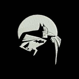 Bonnet batman classique de couleur noir