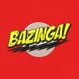 casquette bazinga big bang theorie brodée