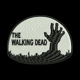 Bonnet walking dead de couleur noir