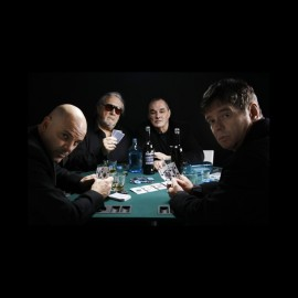 tee shirt the stranglers poker noir