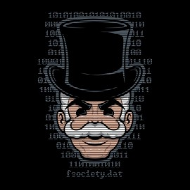 Mr robot f.society special t-shirt