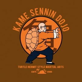 kame sennin dojo t-shirt great turtle
