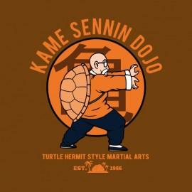 kame sennin dojo t-shirt great turtle